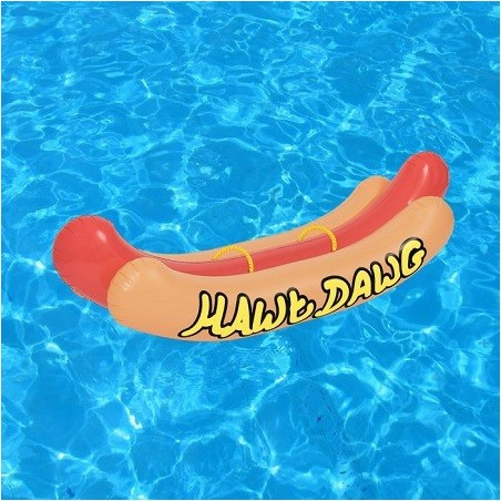 Maxi Bouée gonflable Hot-Dog