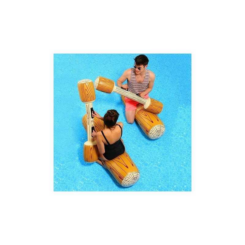 Troncs gonflables pour jeux d'eau