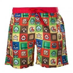 Short de bain Mario icons