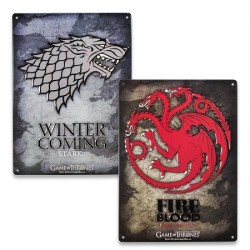 Plaque Murale Game Of Thrones