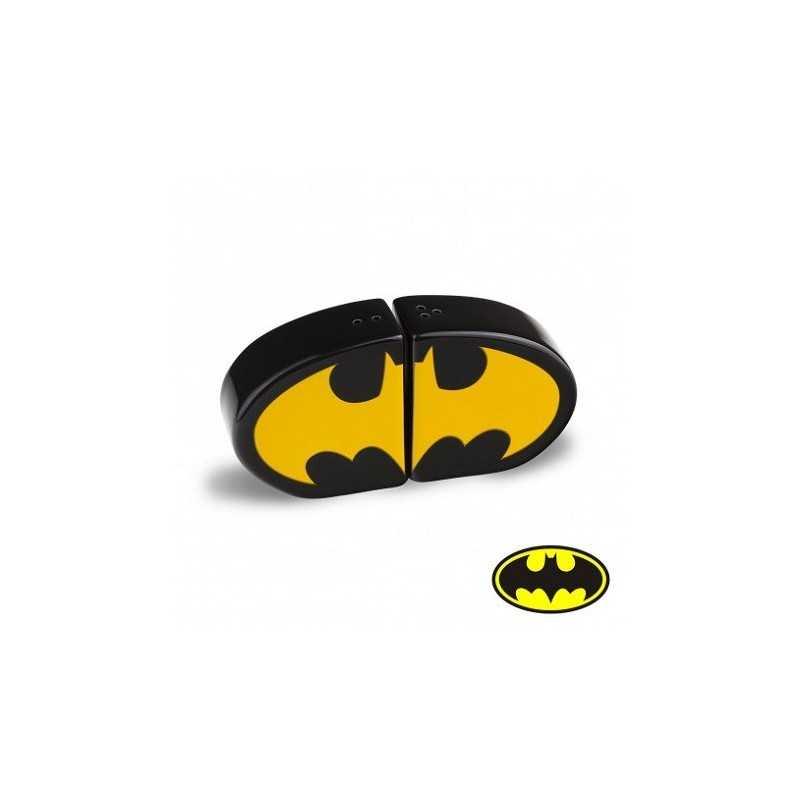Set salière et poivrière Batman Logo