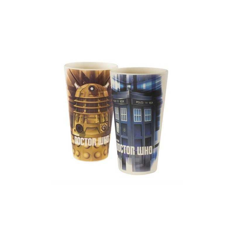 Verres Doctor Who en Bambou