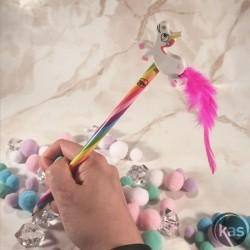 Crayon figurine Licorne Arc-en-ciel