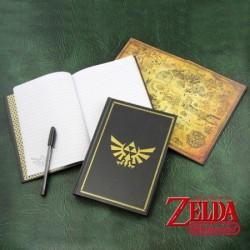 Carnet de note Hyrule Zelda