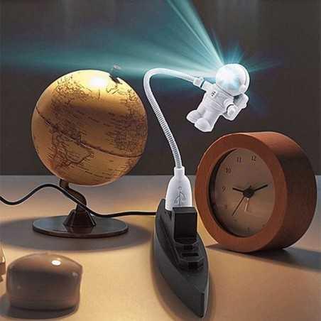 Mini lampe astronaute USB