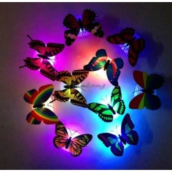 Papillon lumineux murale
