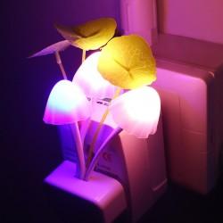 Veilleuse de nuit champignons