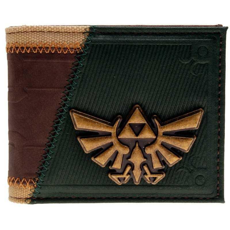 Portefeuille vintage Zelda logo bird