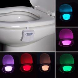 Capteur lumineux WC 8 couleurs