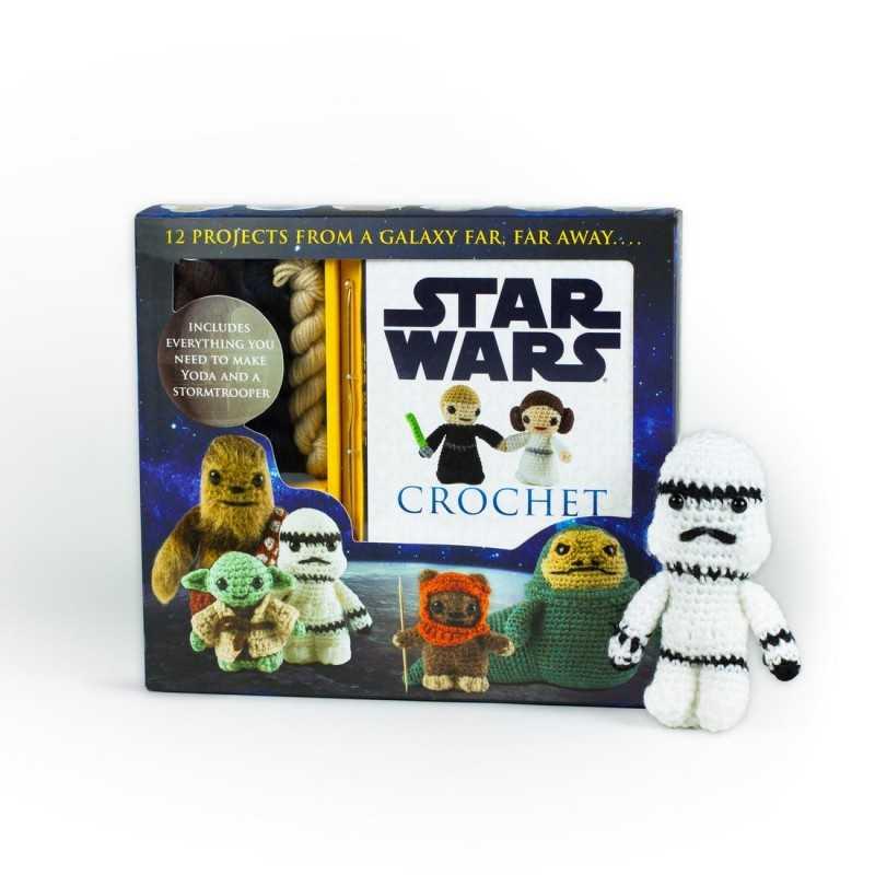 Figurine Star Wars à tricoter