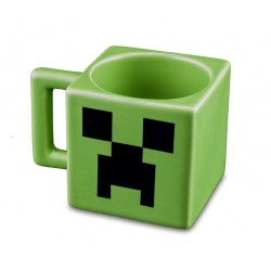 Mug porcelaine Minecraft face creeper