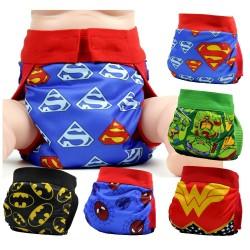 Couche culotte bébé super héros
