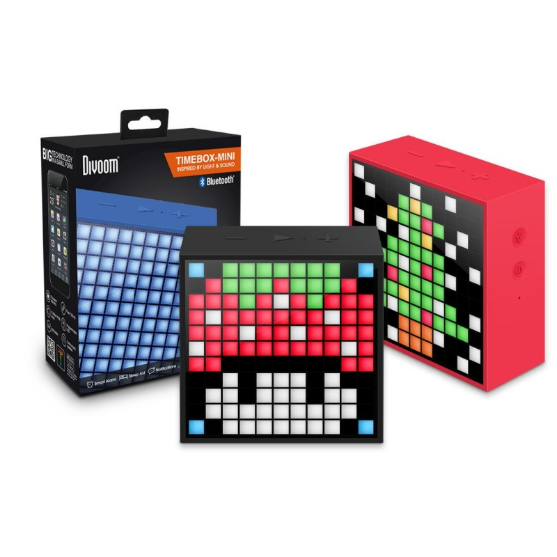 Haut-parleur bluetooth creation Pixel Retro