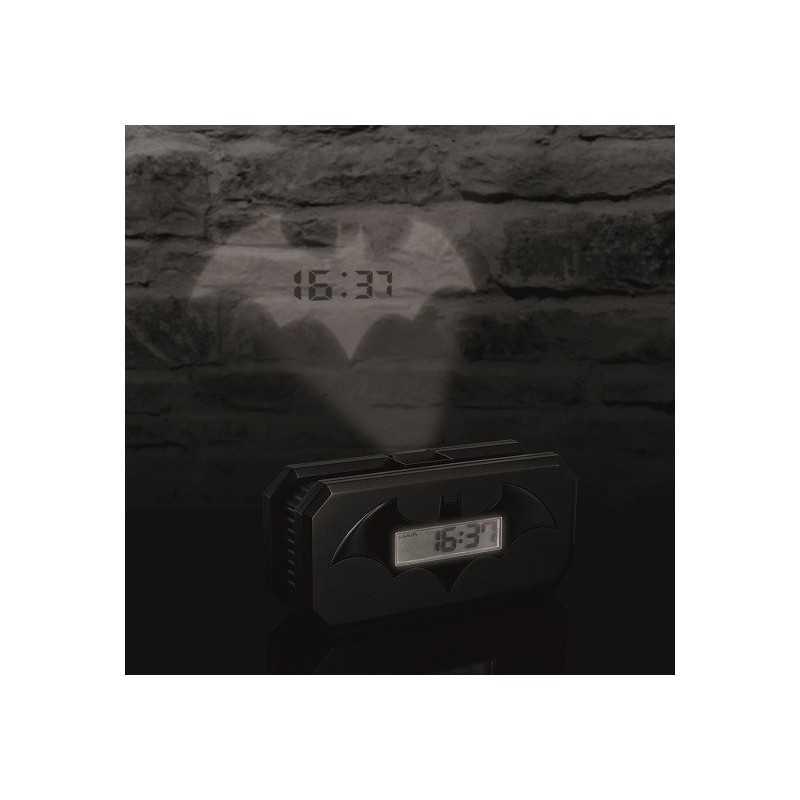 Réveil alarme Batman projection