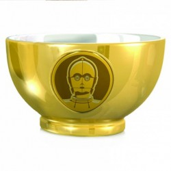Bol Star Wars en or C3PO