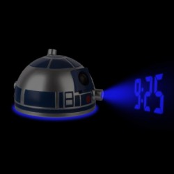 Réveil Star Wars projection tête R2D2