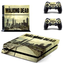 Sticker Console Playstation 4 The Walking Dead