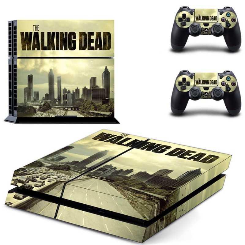 Sticker Console Playstation 4 The Walking Dead