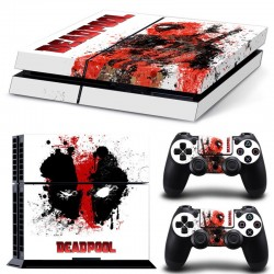 Sitcker Console Playstation 4 Deadpool