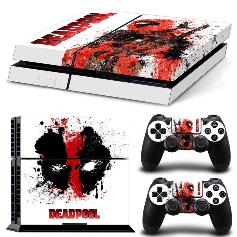 Sitcker Console Playstation 4 Deadpool