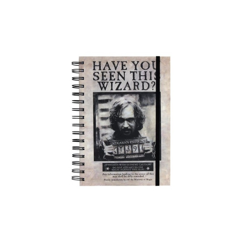 Carnet de notes Harry Potter Wanted