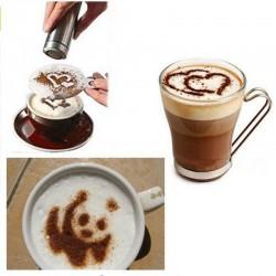 Pochoirs créatifs Barista pour cappuccino