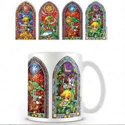 Mug Zelda vitraux
