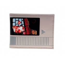 Portefeuille Mario retro cartouche NES