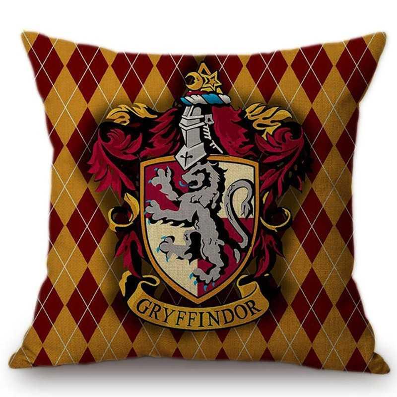 Taie d'oreiller coussin Harry Potter Gryffondor