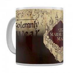 Mug thérmoreactif Harry Potter carte du maraudeur