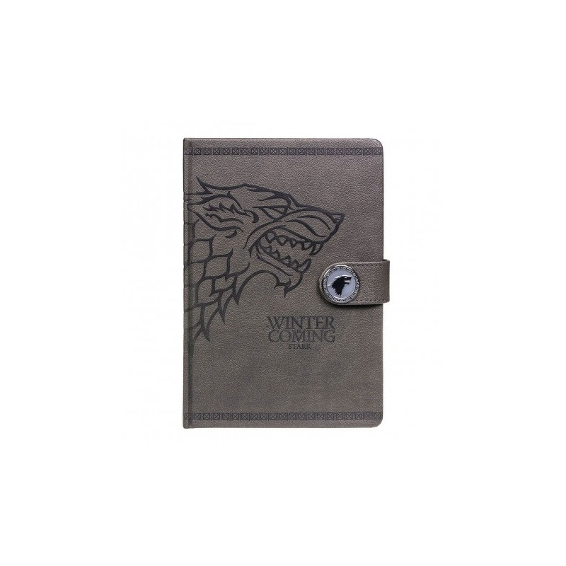 Carnet de notes Game Of Thrones Stark