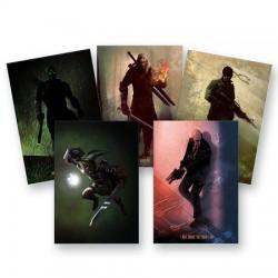 Poster Métal Héros de jeux vidéo