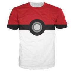 T-Shirt Pokemon team Pokeball