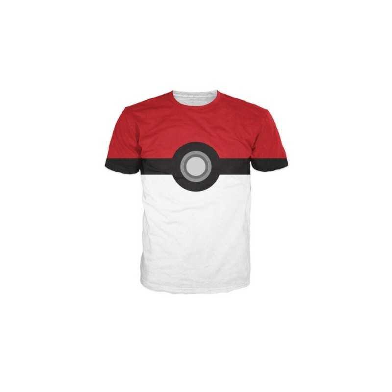 T-Shirt Pokemon team Pokeball