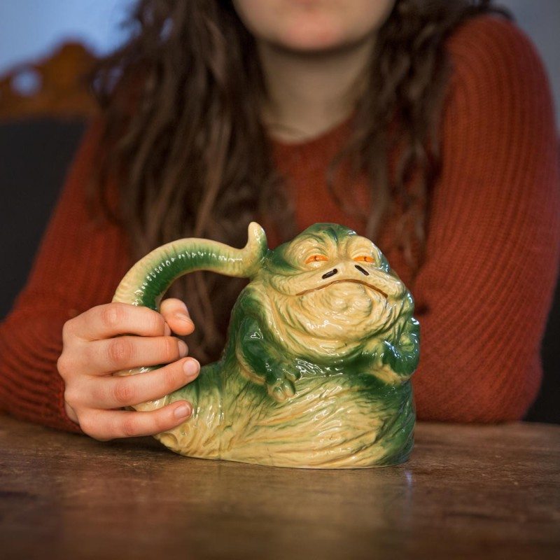 Mug 3D Star Wars Jabba Le Hutt