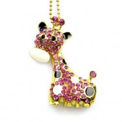 Clé usb Girafe bijoux