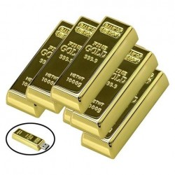 Clé usb Lingot d'or