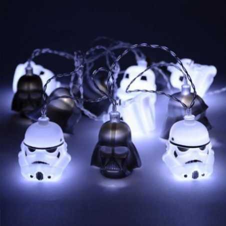 Guirlande lumineuse Star Wars Dark Vador and Stormtrooper