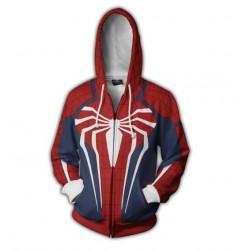 Hoodie Spiderman araignée blanche