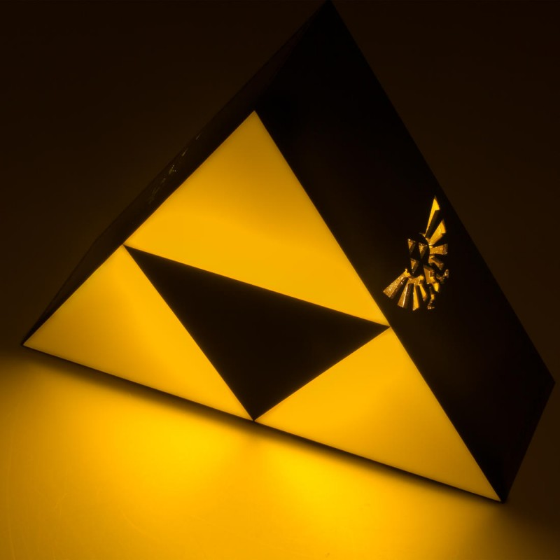 Lampe Zelda Triforce Vendu Geek