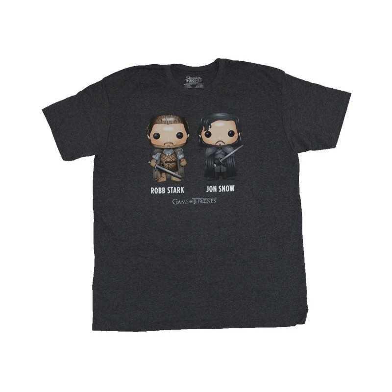 T-shirt Game Of Thrones Robb Stark Jon Snow Funko Pop