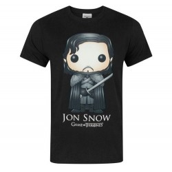 T-shirt Game Of Thrones Jon Snow Funko Pop