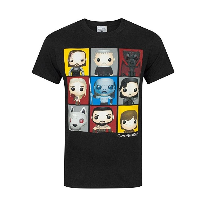 T-shirt Game Of Thrones Funko Character Boxes
