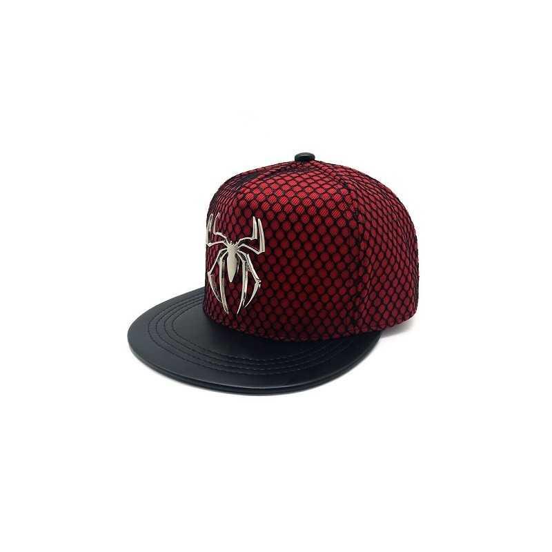 Casquette Spiderman Métal logo
