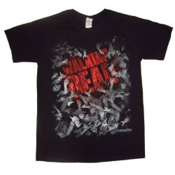 T-Shirt Walking Dead Horde