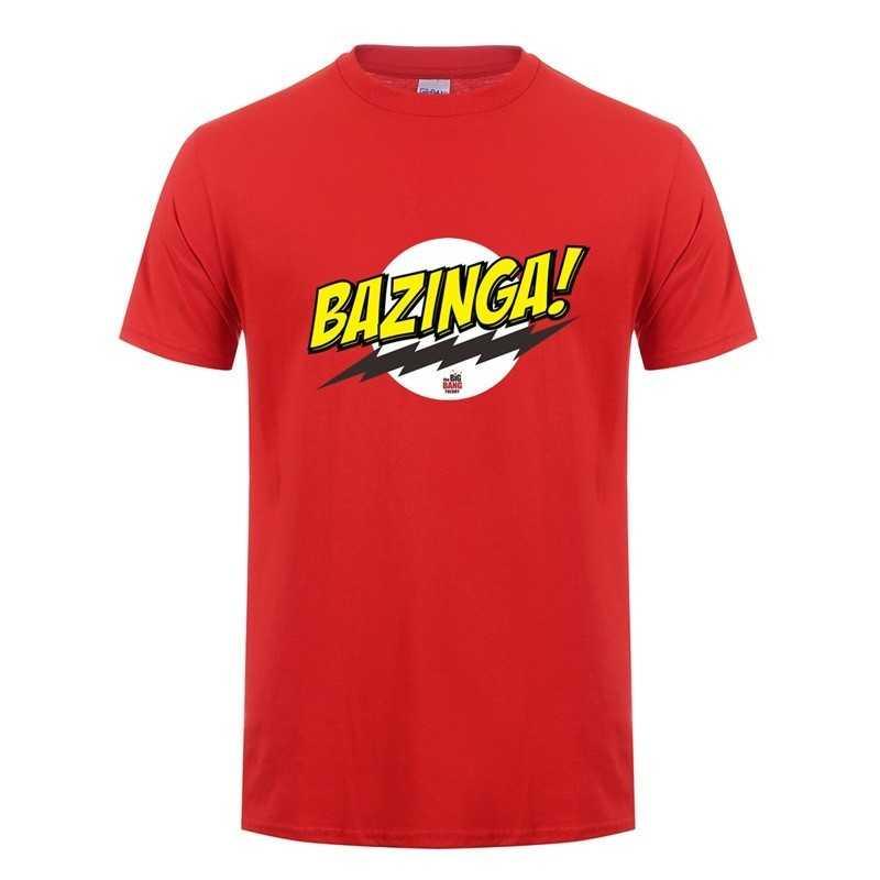 T-Shirt Big Bang Theory Bazinga