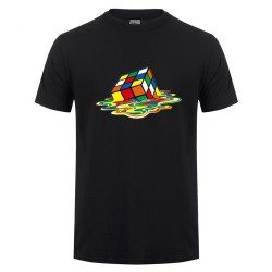 T-shirt Big Bang Theory Rubik's cube