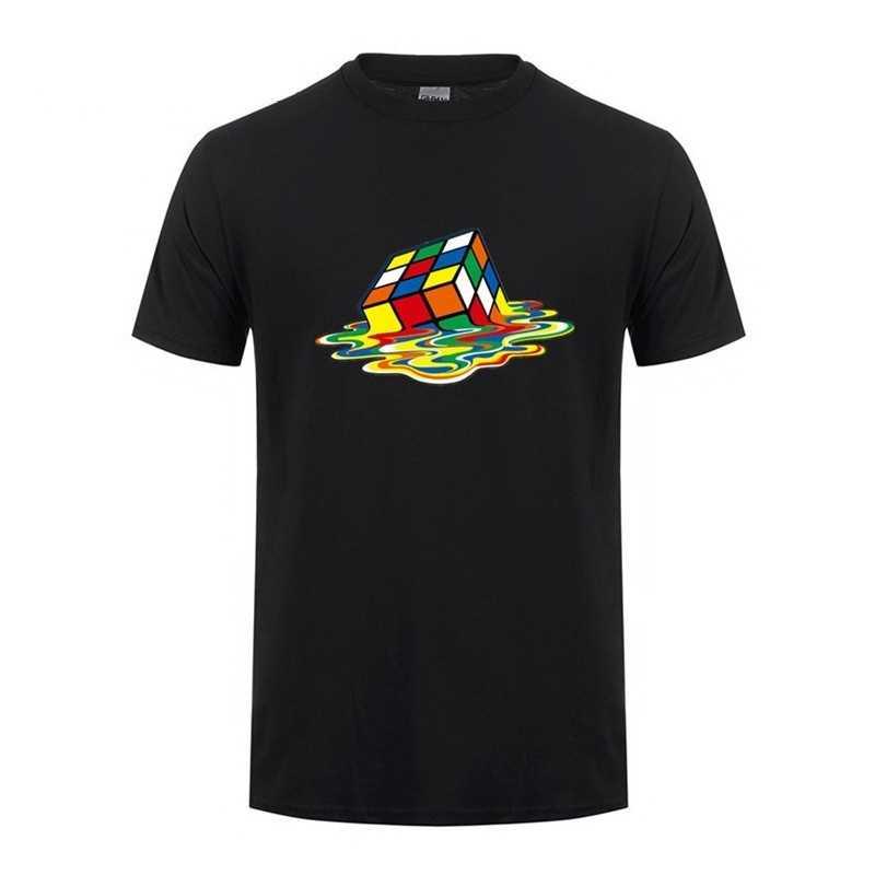 T-shirt Big Bang Theory Rubik's cube