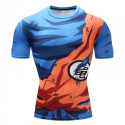 T-Shirt Goku Tenue Déchirée