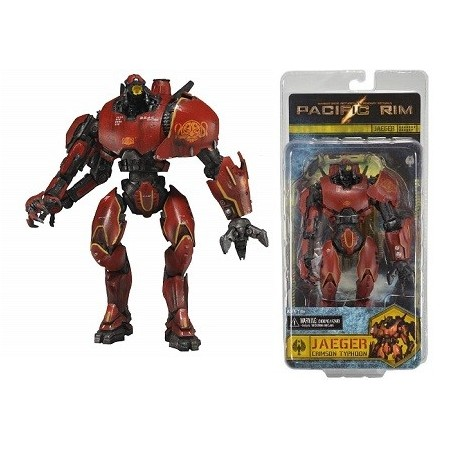 Figurine Pacific Rim Crimson Typhoon Series 1 Neca